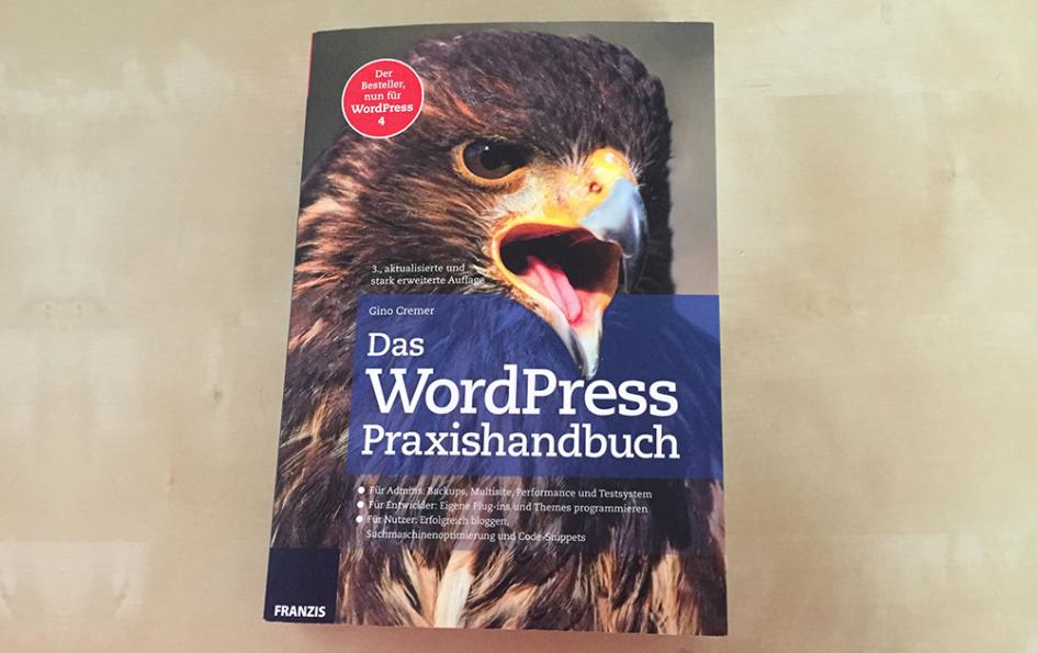 """Beitragsbild """"Das WordPress Praxishandbuch"""""""