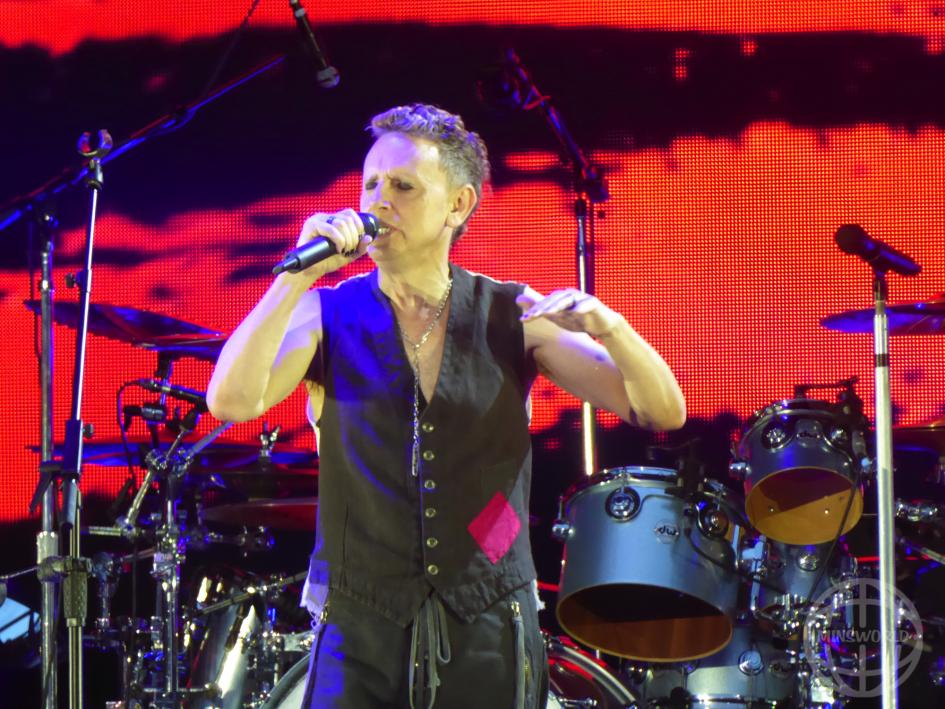 Depeche Mode Konzertbild Hannover 11. Mai 2017