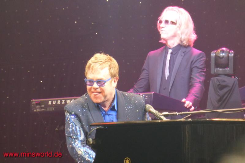 Elton John in Halle/Westfalen am 6. Juli 2014