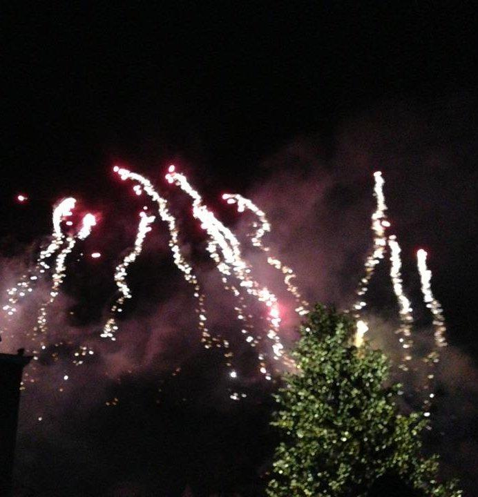 Feuerwerk im Phantasialand am 29.12.2012