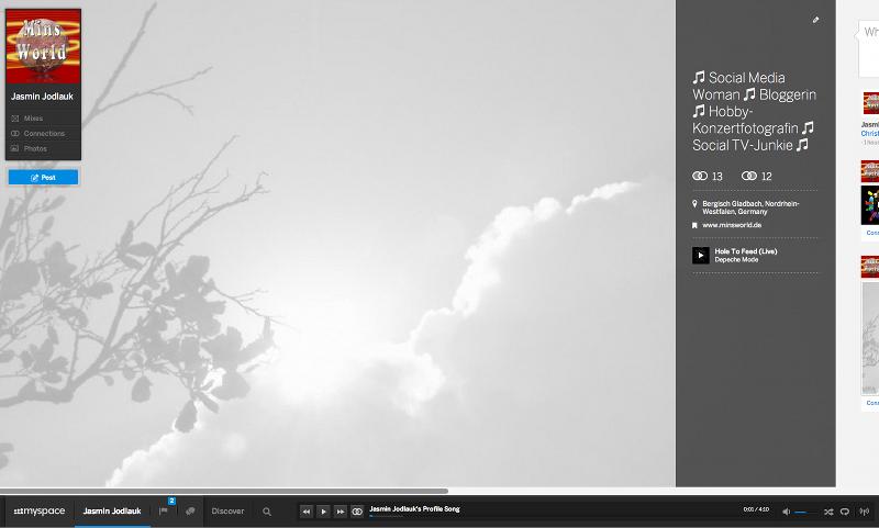 Artikelbild Myspace Profile