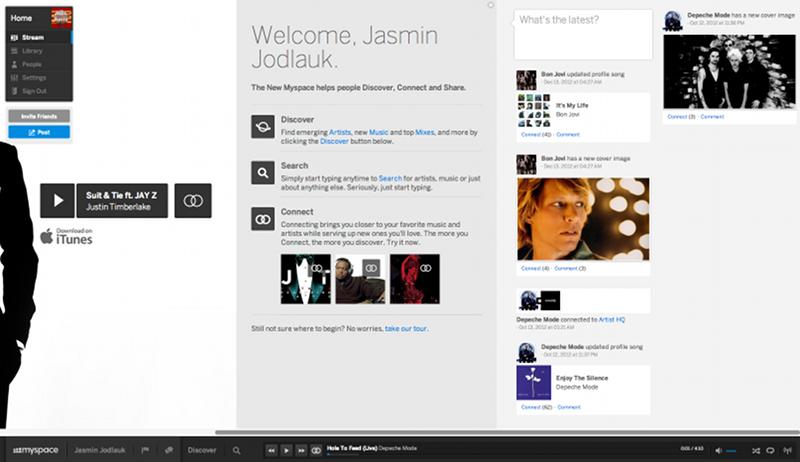 Artikelbild Myspace Stream