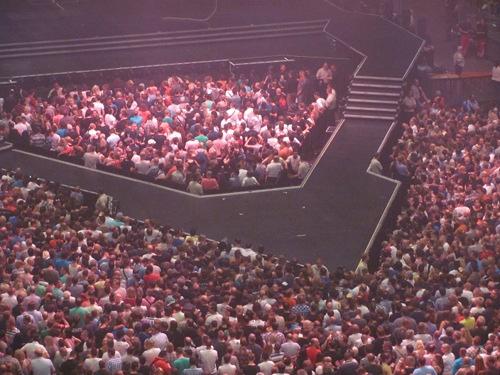 Publikum Madonna-Konzert