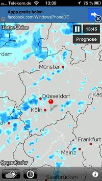 WetterOnline RegenRadar