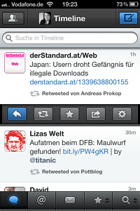 Tweetbot-App für iPhone - Tweet