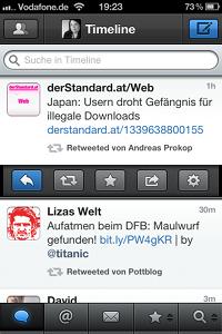 Tweetbot-App für iPhone - Tweet