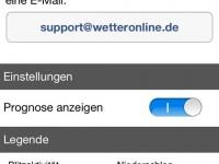 WetterMaps Support