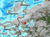 WetterMaps ausgewählter Ort