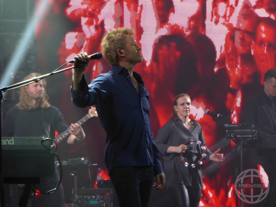 a-ha Konzertfoto LANXESS arena Köln 26.04.2016