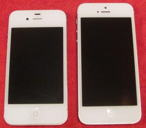 Vergleich iPhone 4S - iPhone 5
