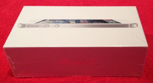 iPhone 5 - verpackt