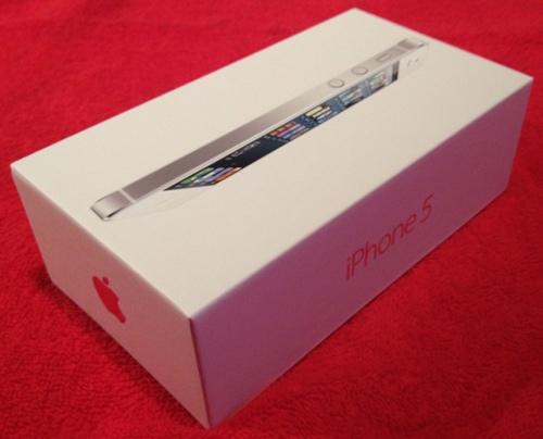 iPhone 5 - Originalverpackung