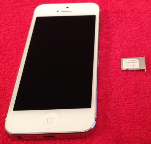 iPhone 5 - Nano-SIM
