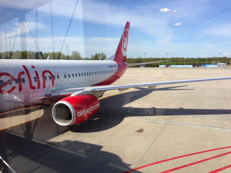 Flug zur re:publica mit Air Berlin